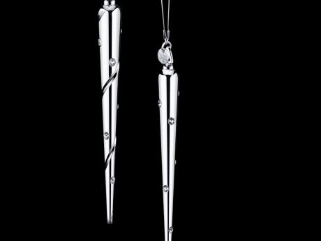 Icicle Diamante - Petite Luxe White Rhodium