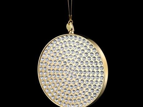 Disci Medallion Luxe 24k Gold