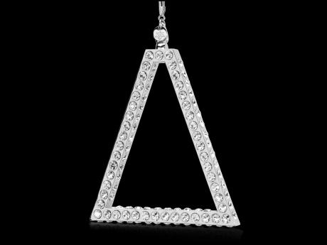 Pyramide Magnus Luxe - Rhodium