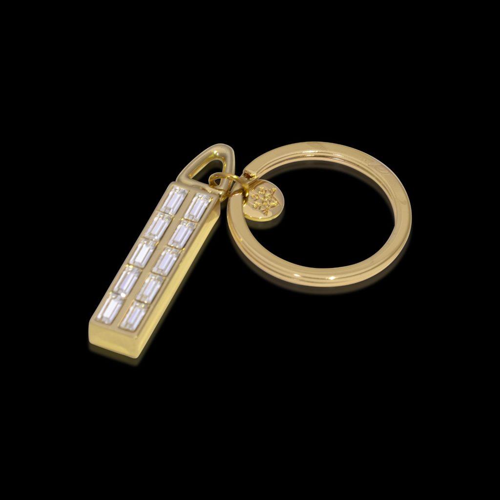 Keychain Gold Crystamas