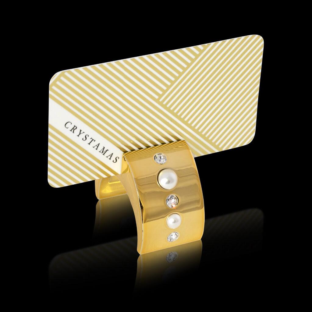 Pearl Cardholder card crystamas